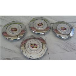 Qty 4 Cadillac Hub Cap Covers