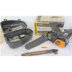 "Tools - Poulan PRO 18"" Chain Saw PP4218A - Appears New"