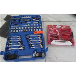 Tools - Socket Wrench Set & Milwaukee Drill Bits