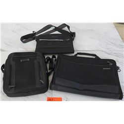 Qty 3 Bags - Tumi, Kenneth Cole, Samsonite
