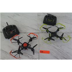 Qty 2 Drones w/ Remote