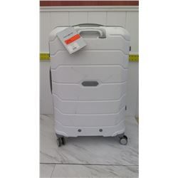 "White Samsonite Freeform 28"" Rolling Suitcase w/ Tags (has some scuff marks)"