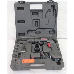 Tools - Craftsman 2-Speed Cordless Drill w/Case & Accessories, etc.