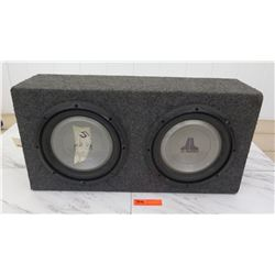 Car Audio - Subwoofer w/ 2 qty Speakers