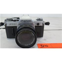 Canon AT-1 35mm Film Camera w/Canon FD 50mm 1:1.8 Lens