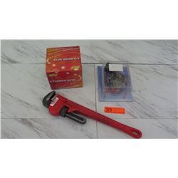 Tools - Craftsman Monkey Wrench, Carburetor Rebuild Set, etc.