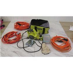 Tools - Ryobi Sander and Extension Cords, etc.