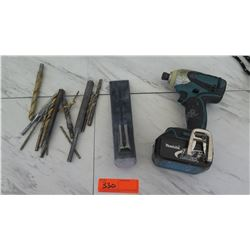 Tools - Makita Impact Driver, Drill Bits, etc.