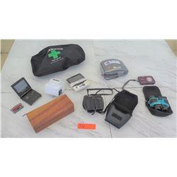 Electronics - Game Boy, Nikon Camera, Pentax Binoculars, Wooden Box, etc.