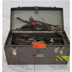 Tools - Craftsman Toolbox w/ Misc Hand Tools, etc.