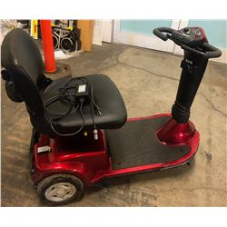 Red Electric Mobililty Scooter