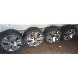 Qty 4 Tires & Rims