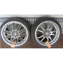 Qty 2 Tires & Rims