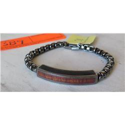 Martin & MacArthur Link Bracelet - Koa Inlay w/Tag