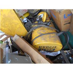 Budgit 1/4 Ton Electric Chain Hoist
