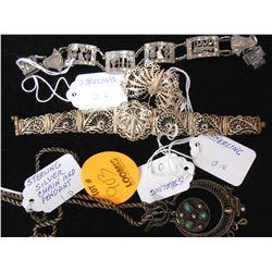 4 PC Asstd. Sterling Jewelry
