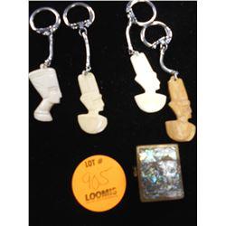 Keychains and Pealized Brass Box