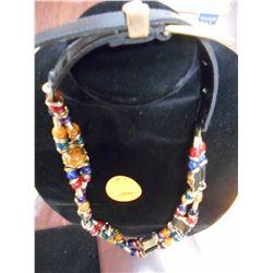 Ladies Belt & Five Necklaces