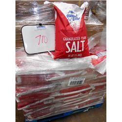 25# BAGS OF GRANULATED SALT