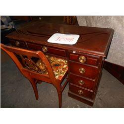 Antique Desk & Chair