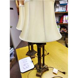 Pair of Antique Style Lamps