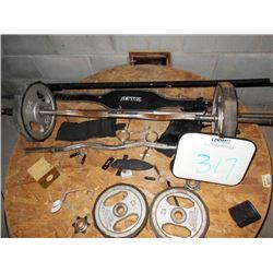 Weight Equipment Lot