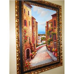 Signed Mediterranean Painting