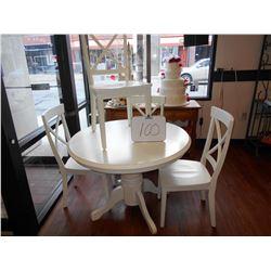 White Cafe 5 pc se Wood