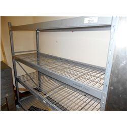 NSF Steel Pallet Style w Grids Rack