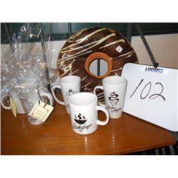 Gift Mugs New / Ironstone
