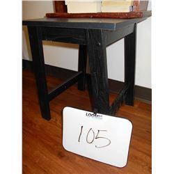 WOOD FLOOR TABLE