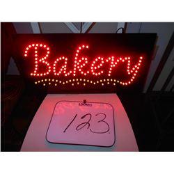 LED BAKERY SIGN / WORKS