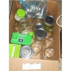 Canning Jar Lot