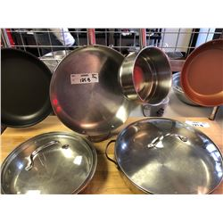 8 Pieces of Stainless Cookware / Commercial