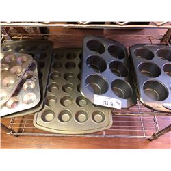 10 Muffin Tin Trays (Lot )