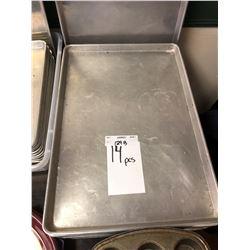 Large metal baking trays (Lot)