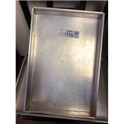 Large Metal Box Pans (Lot)
