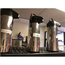 3 Large Coffee Dispensers