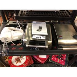 Farberware, Bella Cucina Waffle Irons and B& D Mixer