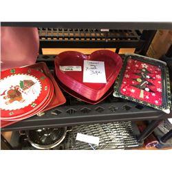 Seasonal Tray Lot 30+ items