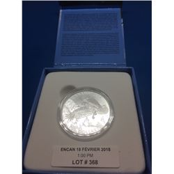 2014 Canada 100$ Pure Silver Coin-The Majestic Bald Eagle- no tax