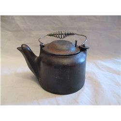 Vintage Cast Iron Wagner Ware Sidney 0 Tea Pot