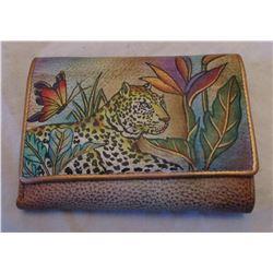 Anushka Hand Painted Designer Wallet