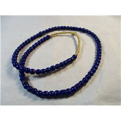 Large Strand Cobalt Blue Trade Beads