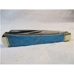 Rough Rider Turquoise Look Pocket Knife Brand New