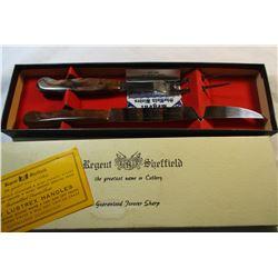 Regent Sheffield Knife and Carving Fork