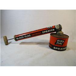 Vintage Black Flag Bug Sprayer 1950's