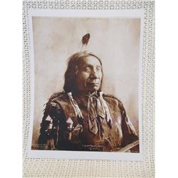 Chief Red Cloud 1900 Omaha Print