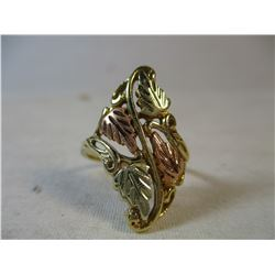 Black Hills Gold Ring South Dakota Size 6 1/2