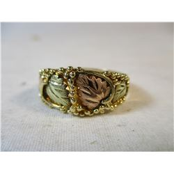 Black Hills Gold Ring South Dakota Size 8 1/2